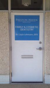Dentist Building Signage