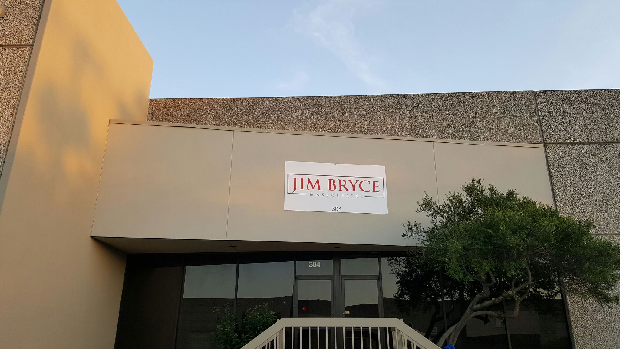 exterior building panel sign in Dallas TX