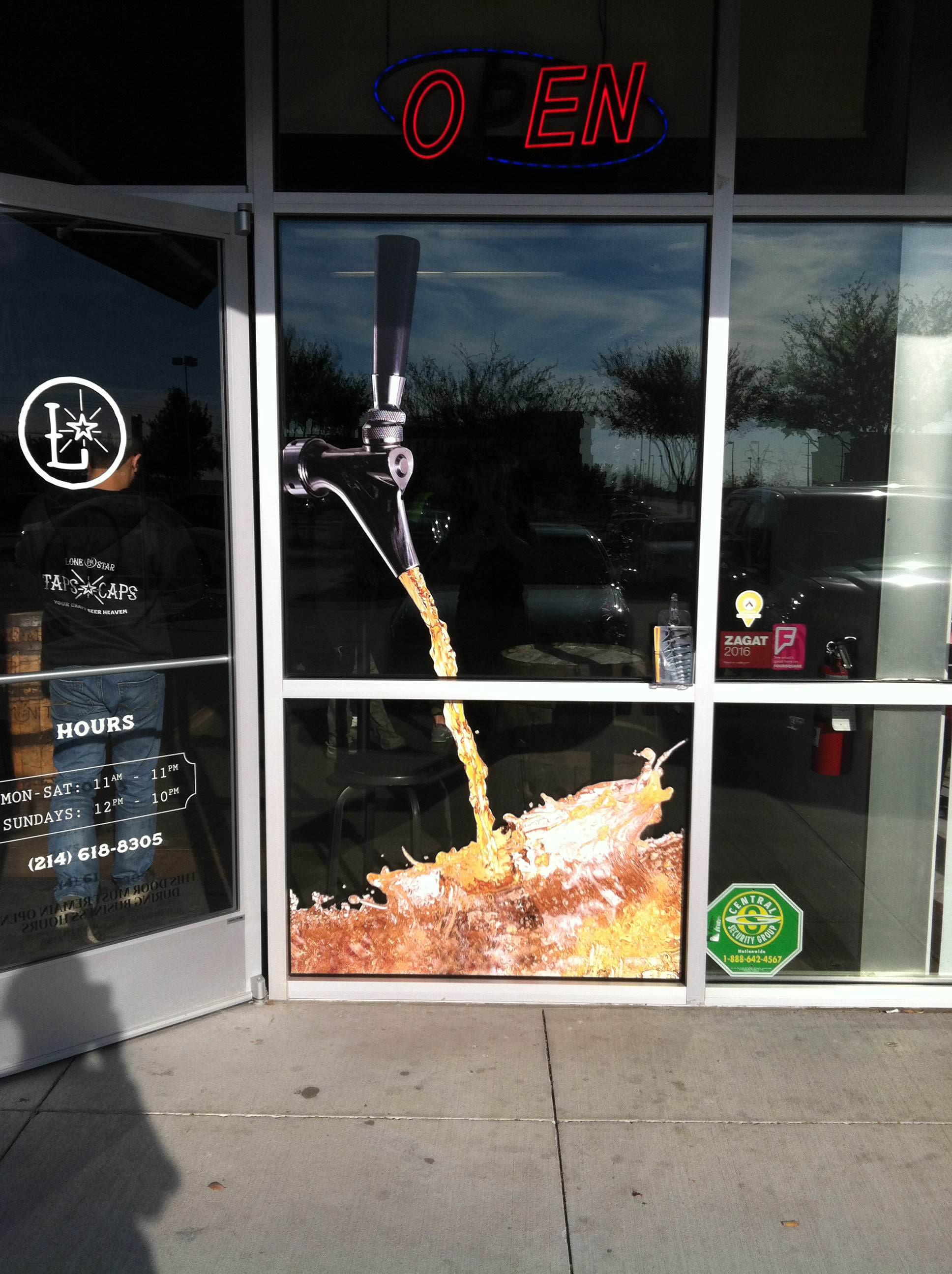 Window Graphics in Lewisville TX