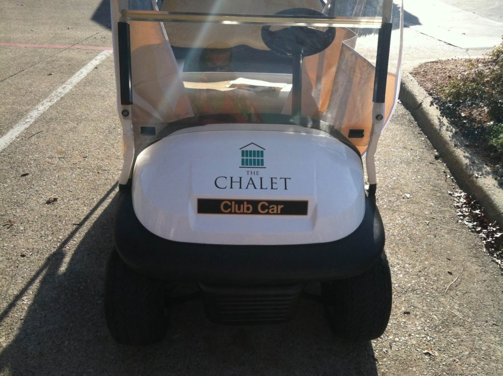 Golf Cart Decals in Irving TX