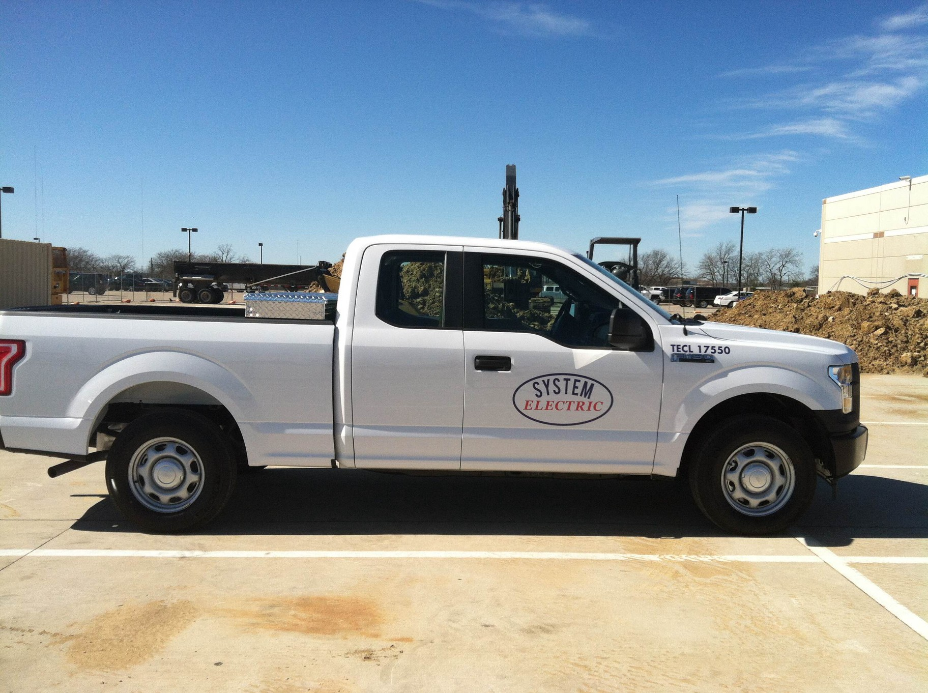 Decals for Fleet Trucks in Plano TX