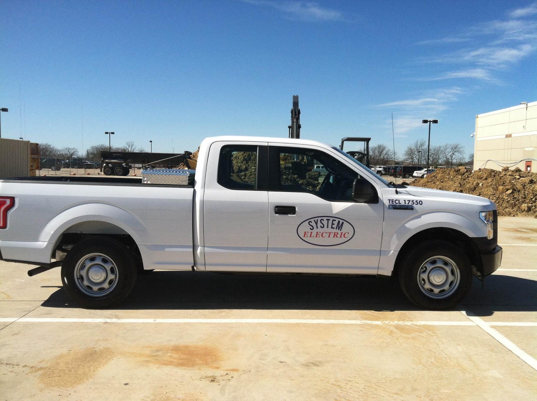 Decals for Fleet Trucks in Plano TX